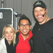 Anthony Tony Robbins No.1 Success Coach Bertemu dengan Coach Yohanes G. Pauly