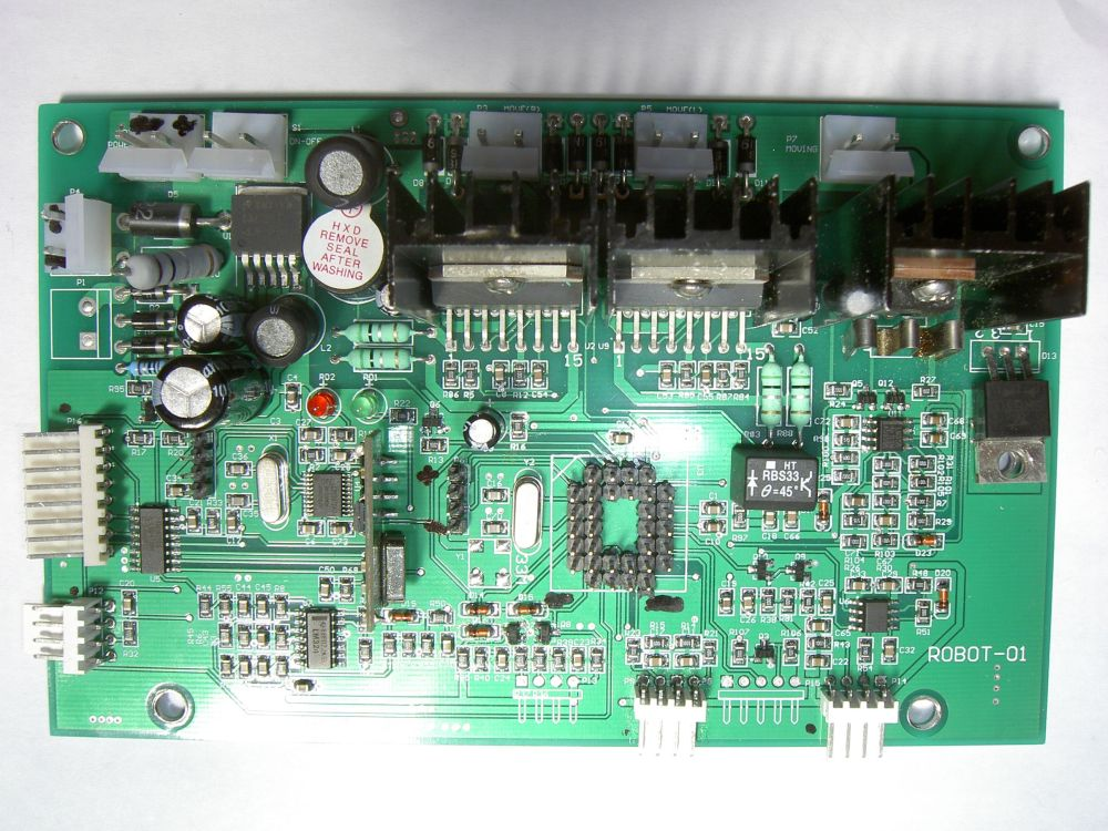medium resolution of  arduino to the robot mower board so
