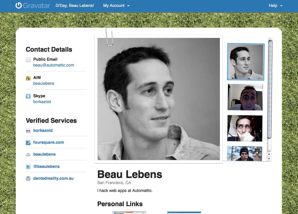 Public Profiles For Everyone « Gravatar Blog