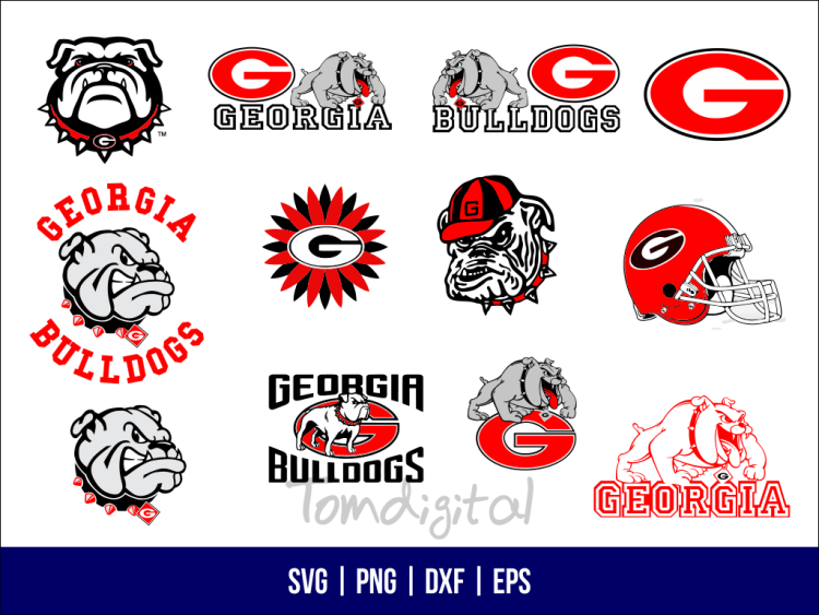 GEORGIA BULLDDOGS SVG