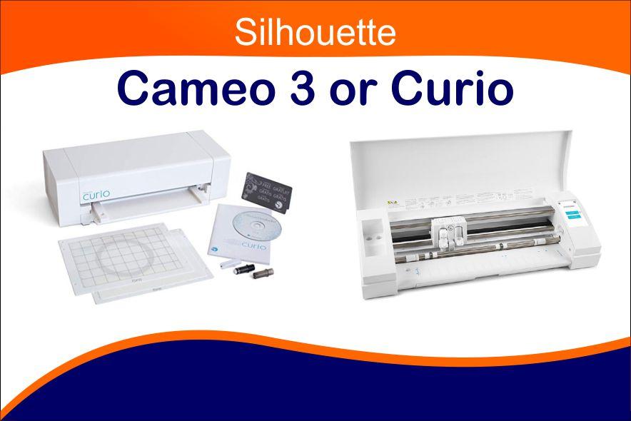 silhouette cameo or curio