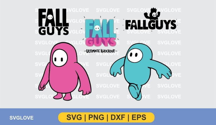 fall guys logo svg