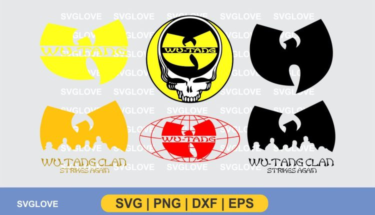 wu tang logo svg bundle