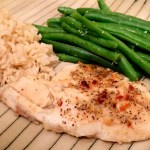 Lemon and Red Pepper Baked Tilapia