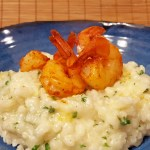 Sate Roasted Shrimp & Parmesan Risotto