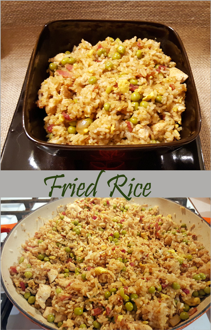 Chicken fried rice gravel dine its not your typical fried rice and it wont taste anything like what you get in a take out box i dont know for sure but i think shes americanized it a ccuart Choice Image