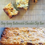 Ooey Gooey Butterscotch Chocolate Chip Bars