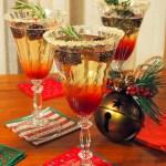 Blackberry Champagne Christmas Sparkler