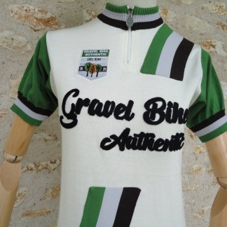 Maillot Mérino Gravel Bike Authentic