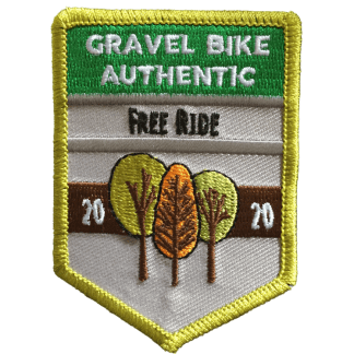 écusson brodé Gravel Authentic