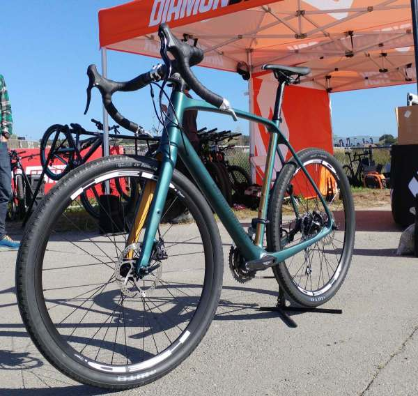 Feature Diamondback Haanjo Carbon Exp Adventure Bike