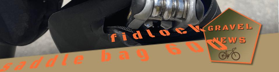 fidlock saddle bag 600