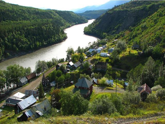 telegraph creek townsite