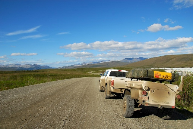 Photo by Russ, Dempster Highway, Yukon