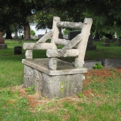 Tree Stump Chairs Antique White Dining Chair Gravely Speaking