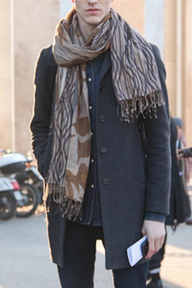 scarf menswear