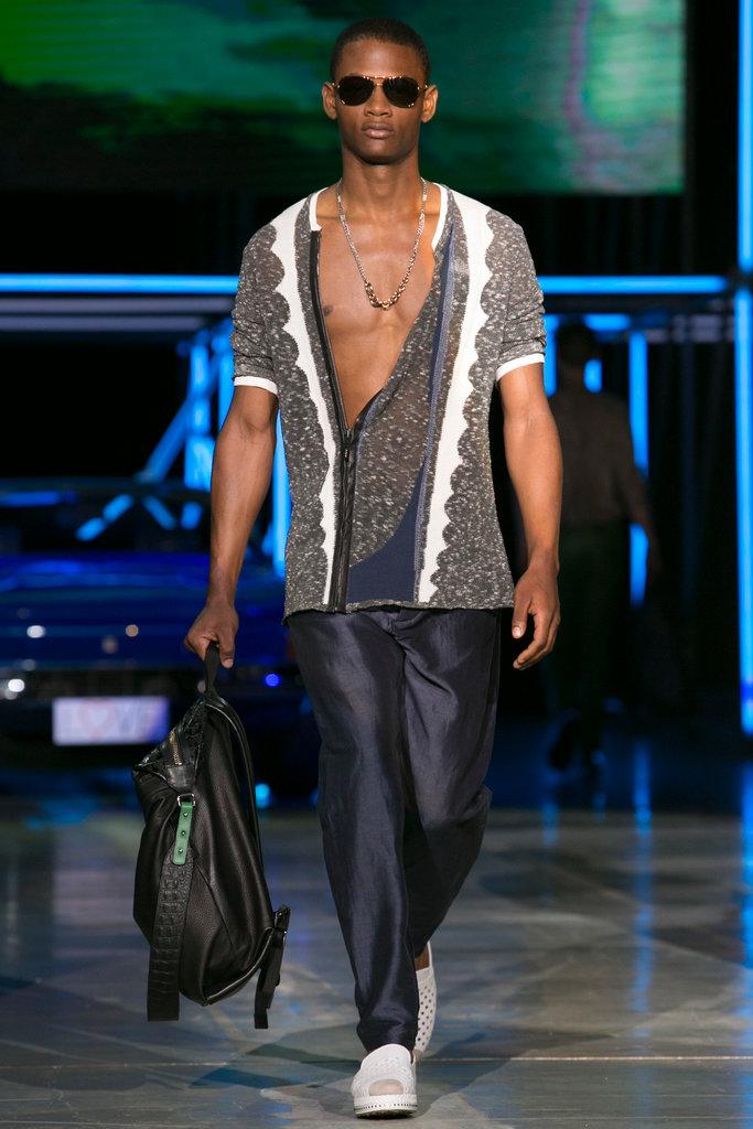 Roberto Cavalli Menswear SS 2015