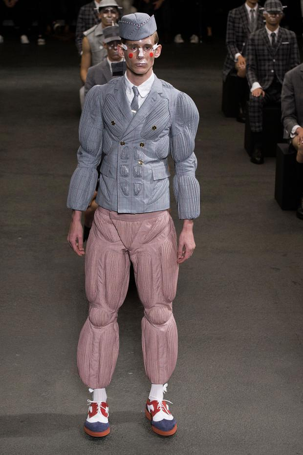 Thome Browne Menswear SS 2015