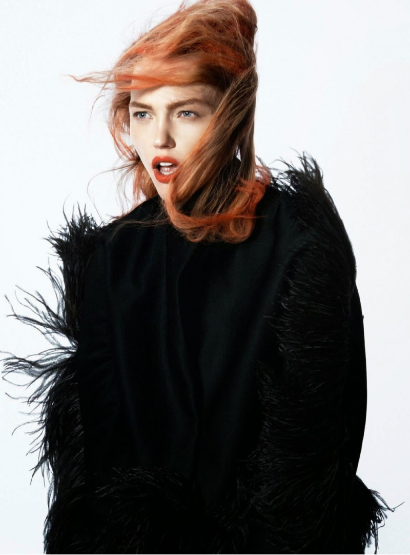 Black Mischief–Photographed by David Sims