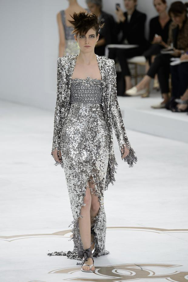 chanel haute couture fall winter 2014 2015 pixie chicks