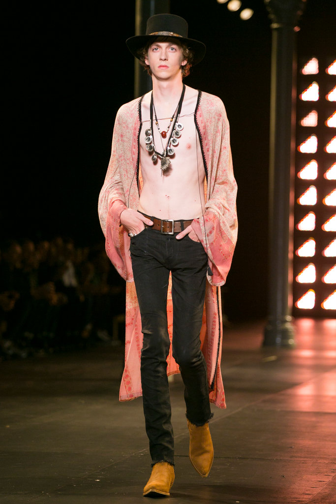 Saint Laurent Menswear SS 2015 Western Rocker Throwback