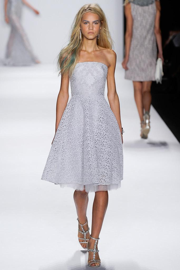Badgley Mischka Ready To Wear SS 2015 NYFW