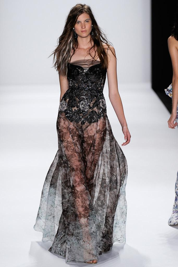 Badgley Mischka Ready To Wear SS 2015 NYFW