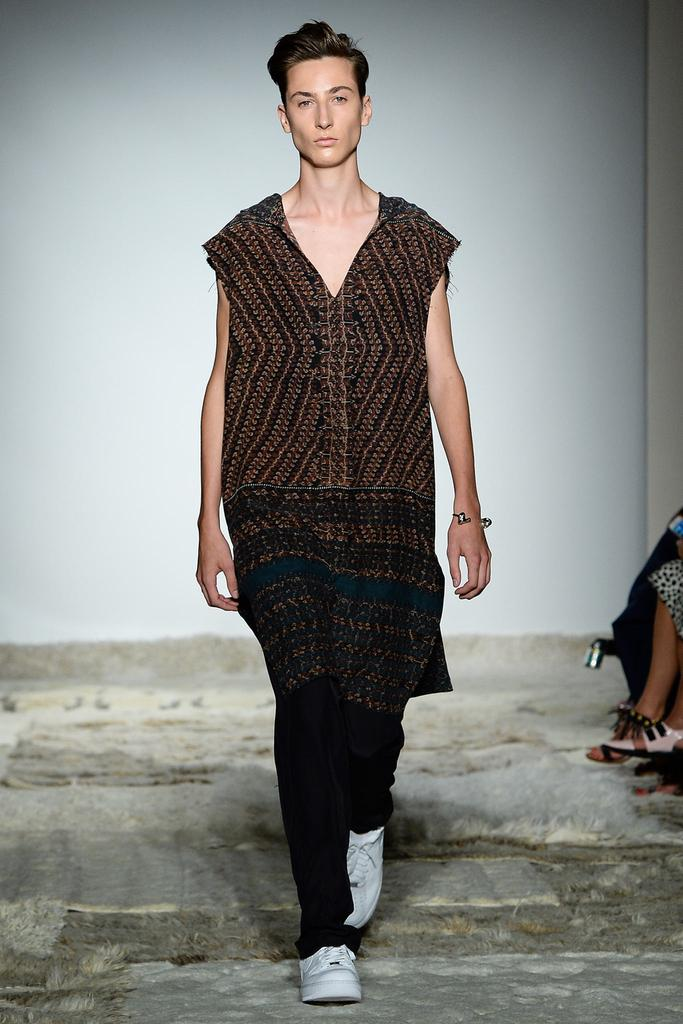 Baja East Ready To Wear SS 2015 NYFW