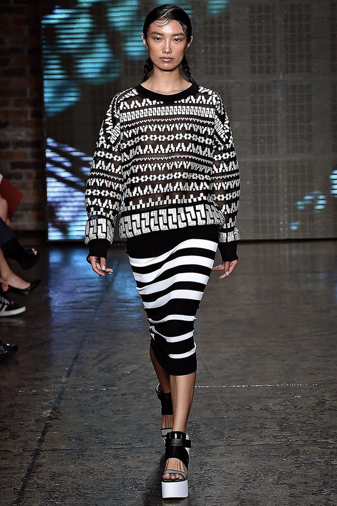 DKNY Ready To Wear SS 2015  NYFW