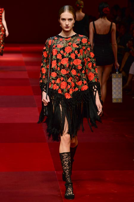 Dolce & Gabbana SS 2015 MFW (32)