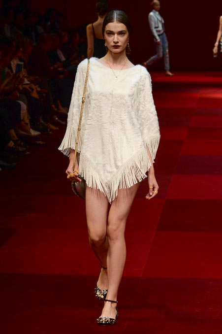 Dolce & Gabbana SS 2015 MFW (37)