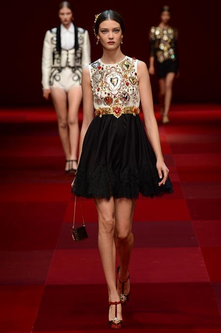 Dolce & Gabbana SS 2015 MFW (4)