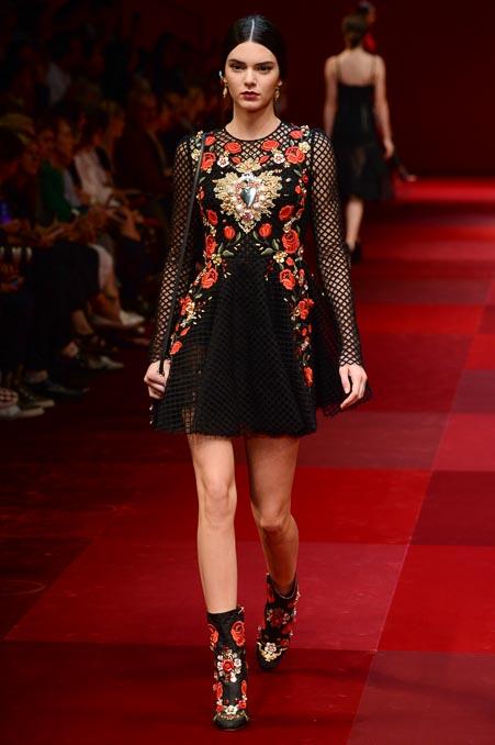 Dolce & Gabbana SS 2015 MFW (55)