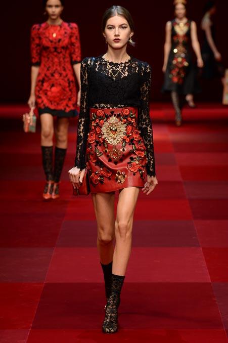 Dolce & Gabbana SS 2015 MFW (57)