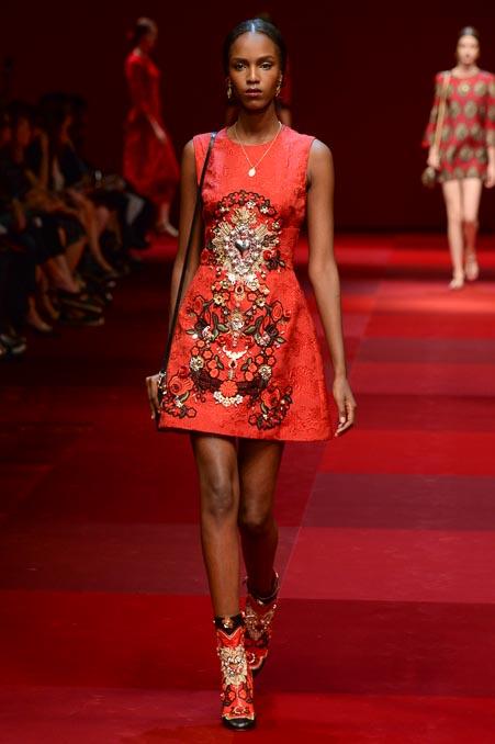Dolce & Gabbana SS 2015 MFW (61)