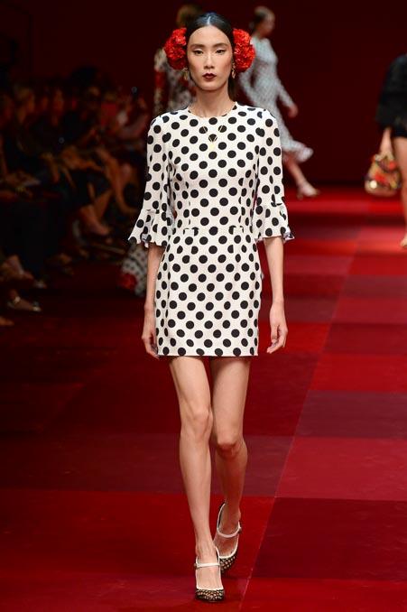 Dolce & Gabbana SS 2015 MFW (75)