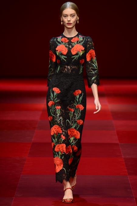 Dolce & Gabbana SS 2015 MFW (79)
