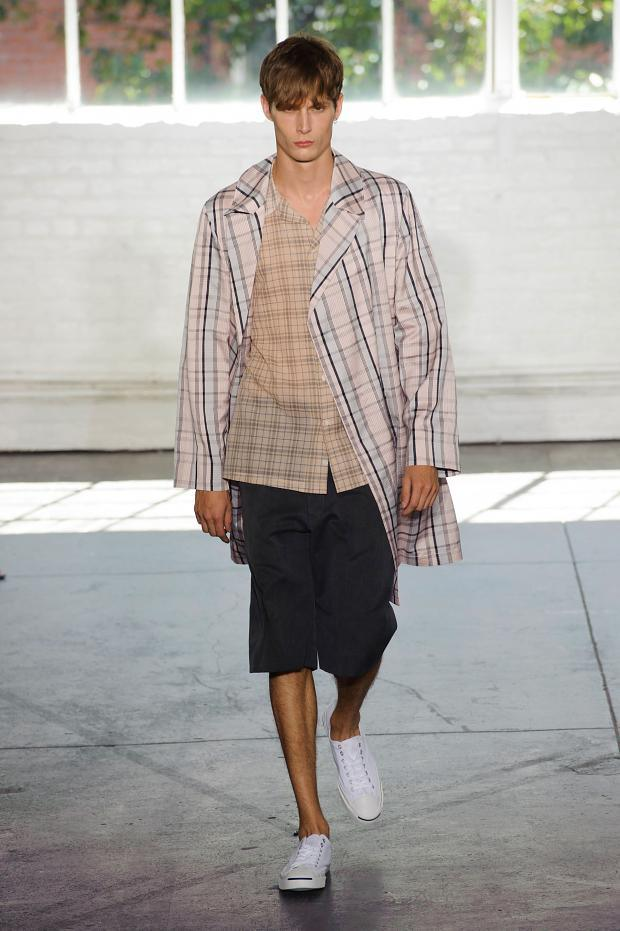 Duckie Brown SS 2015 Menswear NYFW