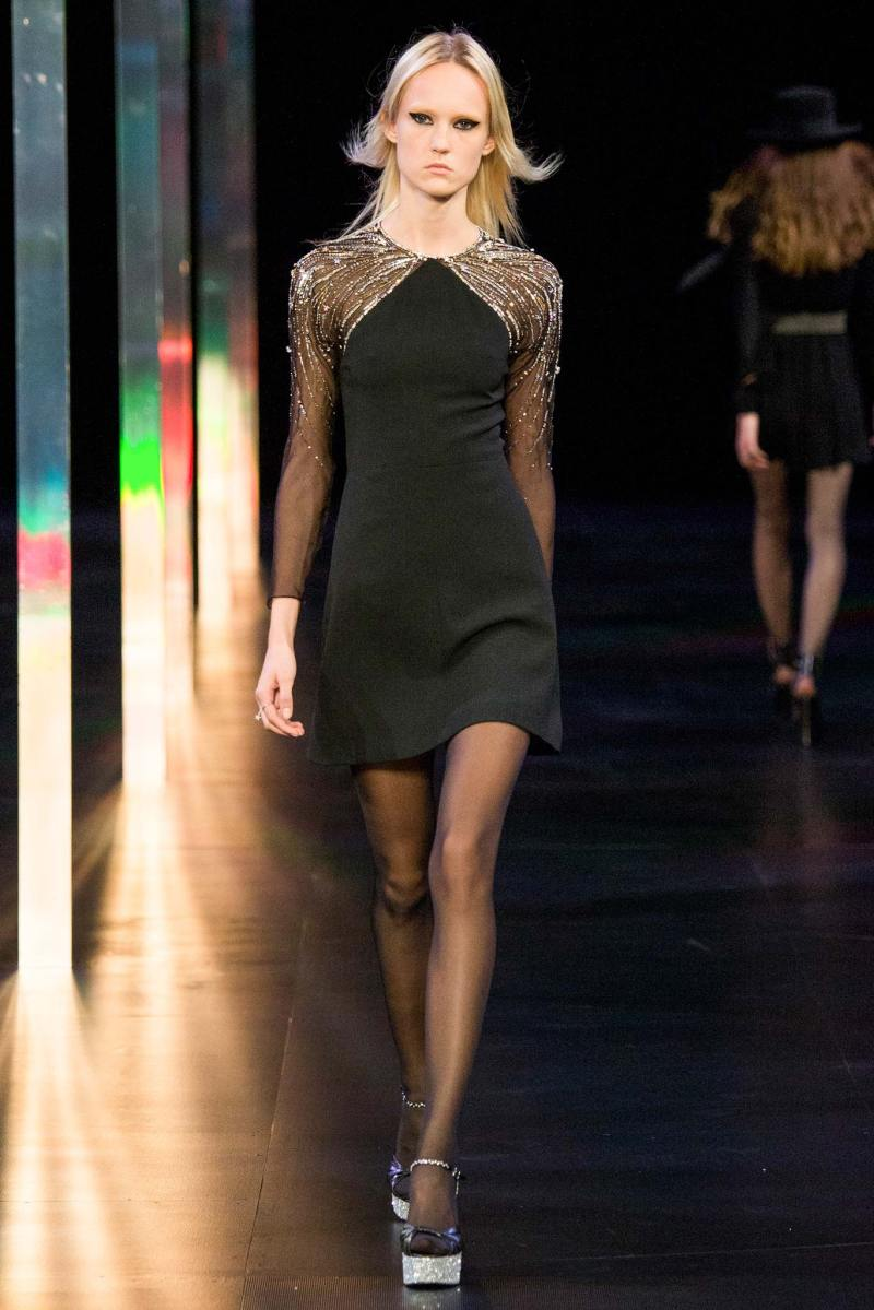 Saint Laurent SS 2015 PFW (13)