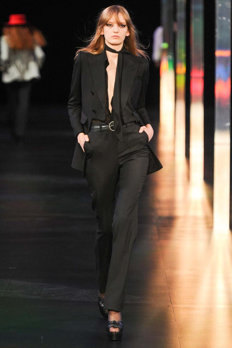 Saint Laurent SS 2015 PFW (22)