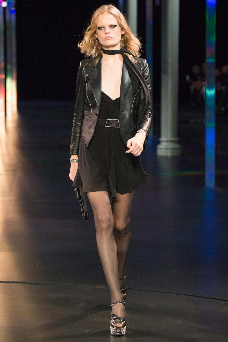 Saint Laurent SS 2015 PFW (25)
