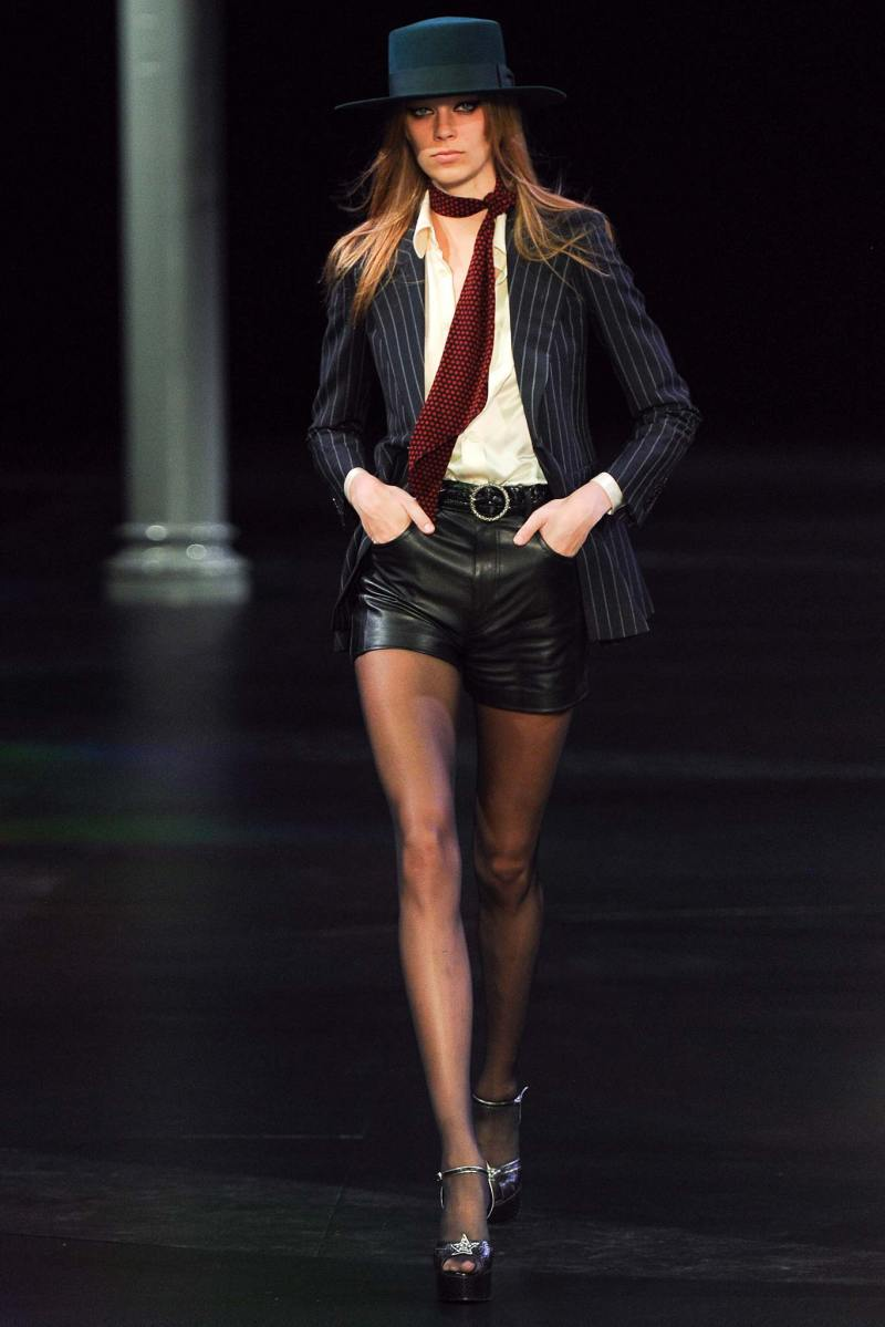 Saint Laurent SS 2015 PFW (6)