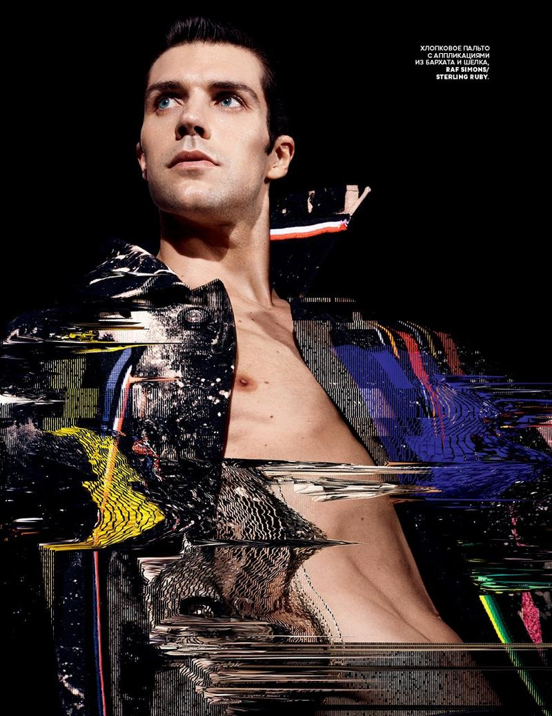 'Superman' - Roberto Bolle by photographer Daniel Sannwald