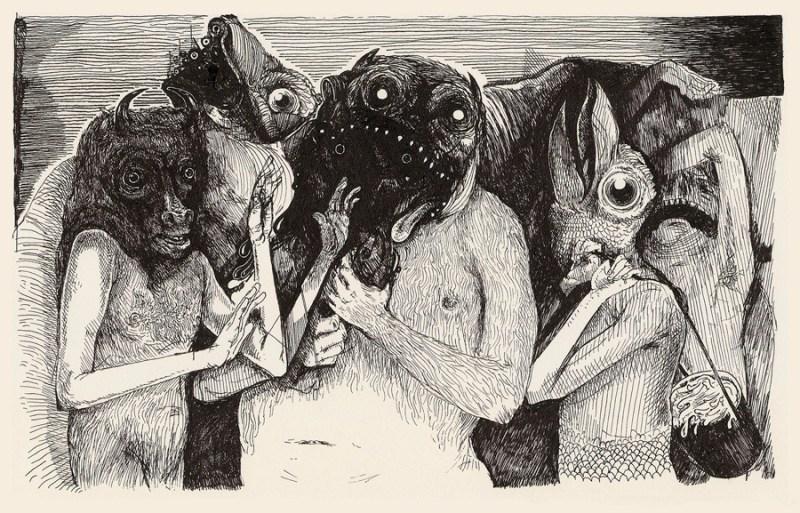 Illustrations by artist Kristofer Porter