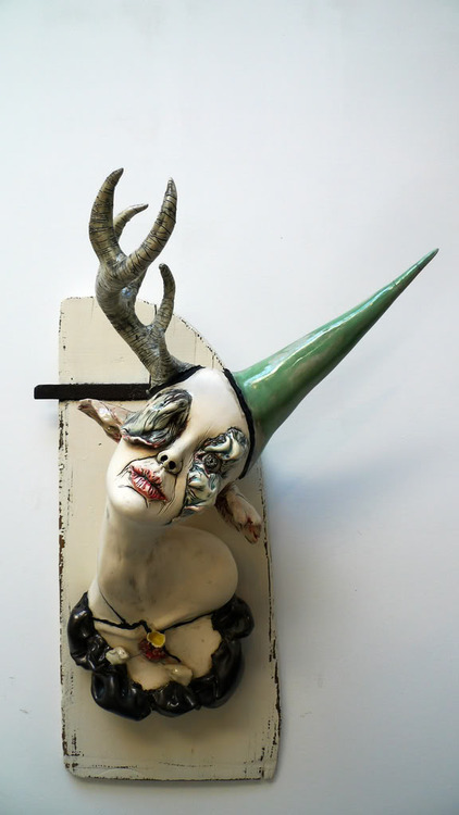 Psychic Creatures forged by Sarah Louise Davey