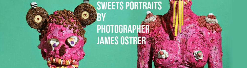 Sweets Portraits by Photographer James Ostrer banner
