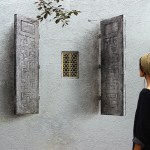 Optical Illusion Windows by artist Pejac