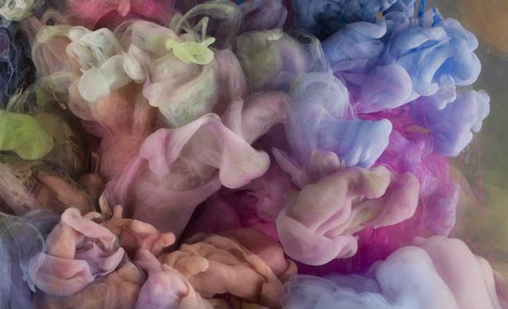 Paint Forms by artist Kim Keever
