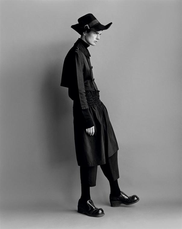 Stella Tennant by photographer Alasdair McLellan