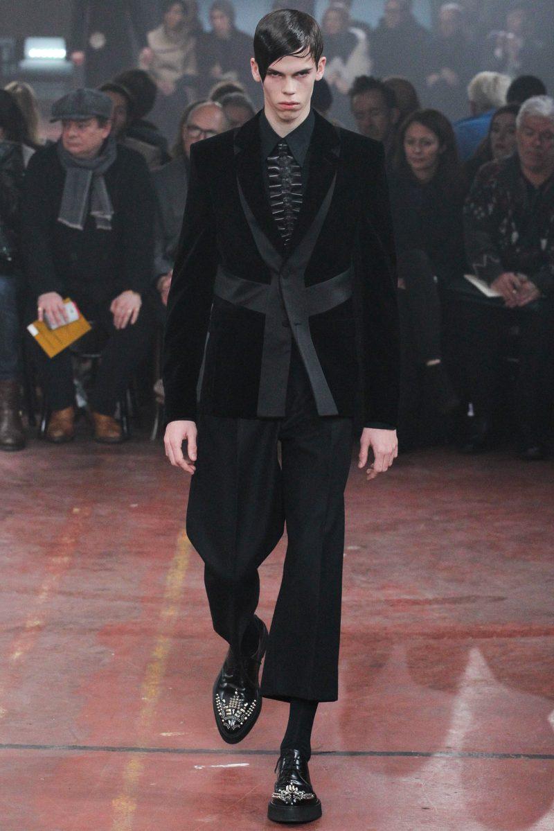 Alexander McQueen Menswear FW 2015
